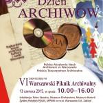 Powiększ zdjęcie Międzynarodowy Dzień Archiwów - VI Warszawski Piknik Archiwalny